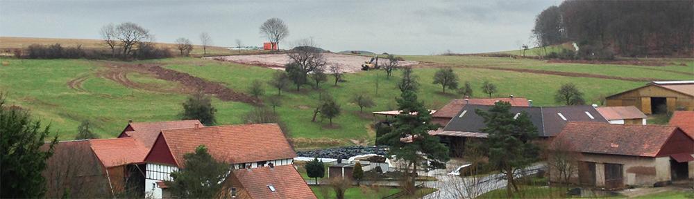 Biogasanlage in Potzwenden